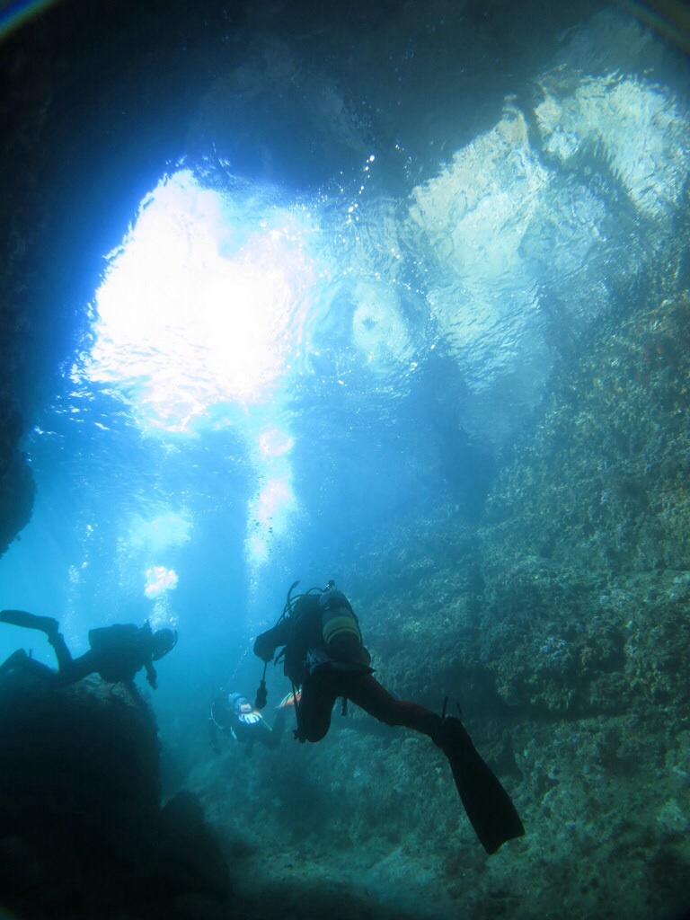 熱海 ダイビング 洞窟