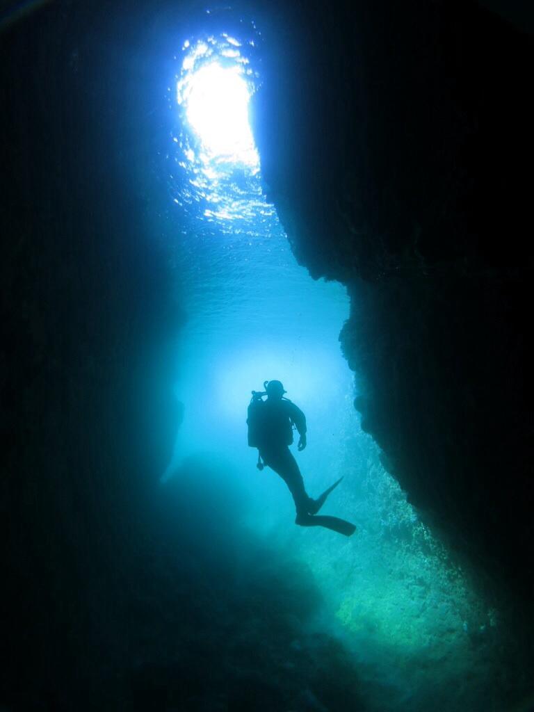 熱海 小曽我 洞窟 ダイビング