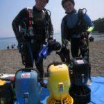 水中スクーター PADI 講習 SPコース