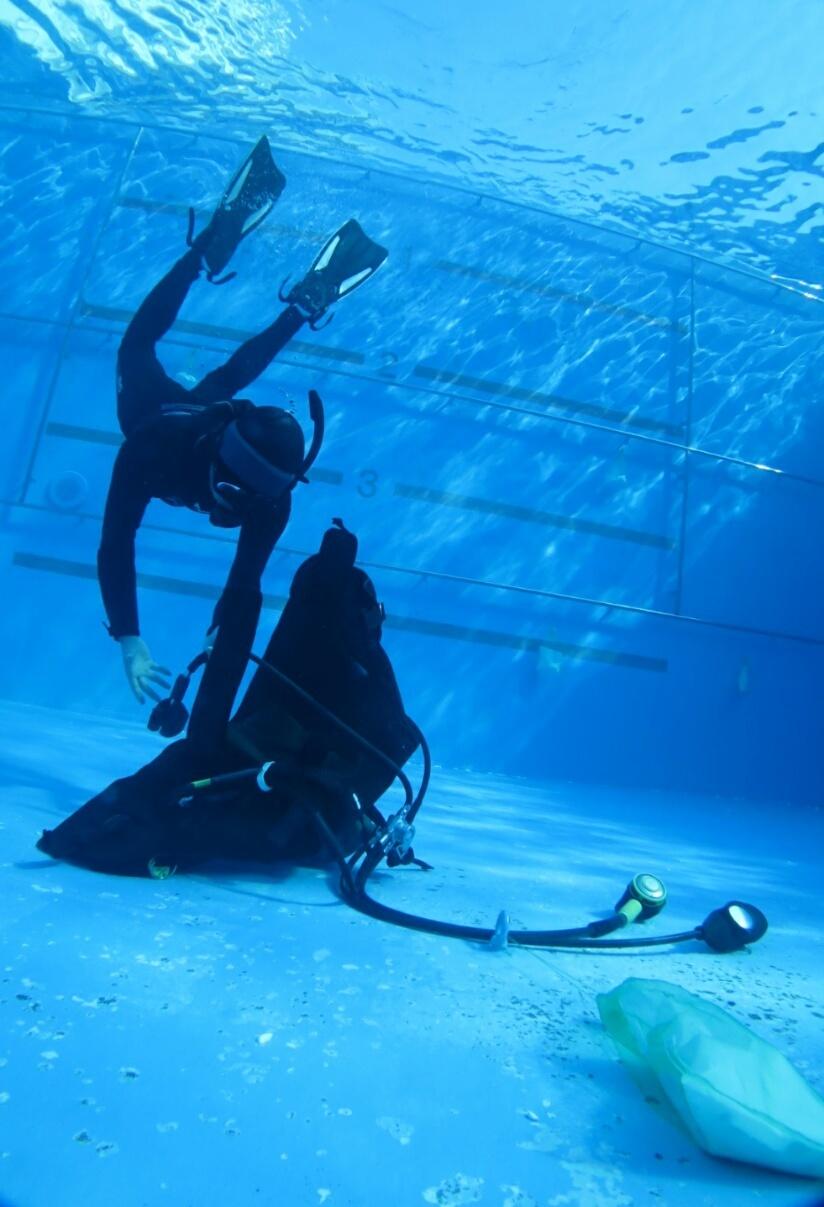 ダイビング 三浦半島 三戸浜 神奈川 プール トレーニング