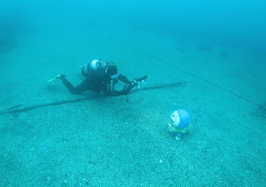 水中 写真 撮影 トレーニング 練習 ダイビング ストロボ