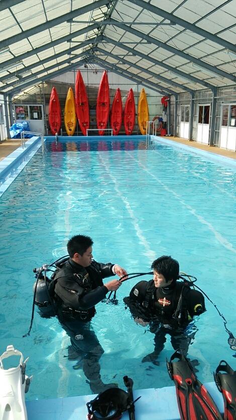 中性浮力 トレーニング 練習 プール 大船