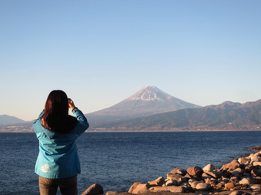 富士山 伊豆 大瀬崎