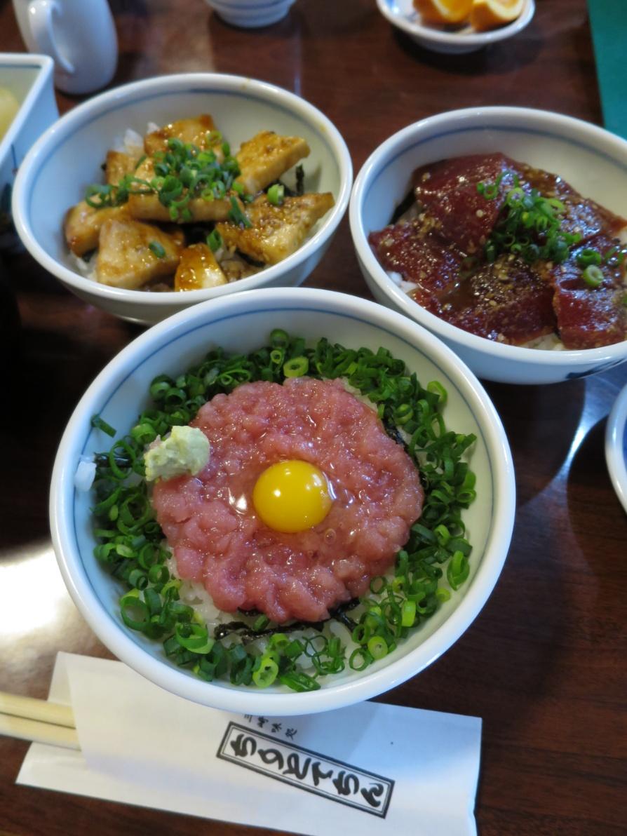 ちりとてちん 三崎 マグロ丼