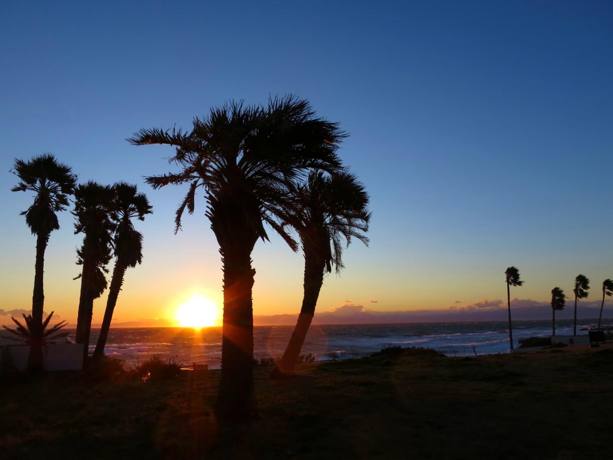 三戸浜 夕陽