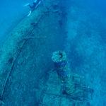 軍艦 エモンズ ダイビング 沖縄