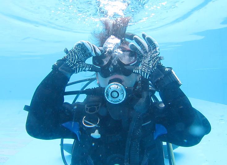 ダイビング リフレッシュ 復習 マスククリア