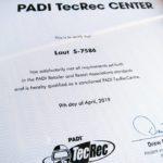 PADI TECREC テックレック テクニカルダイビング