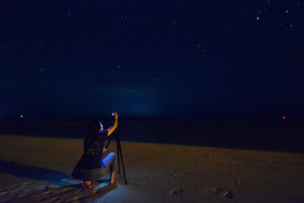 星 撮影 沖縄