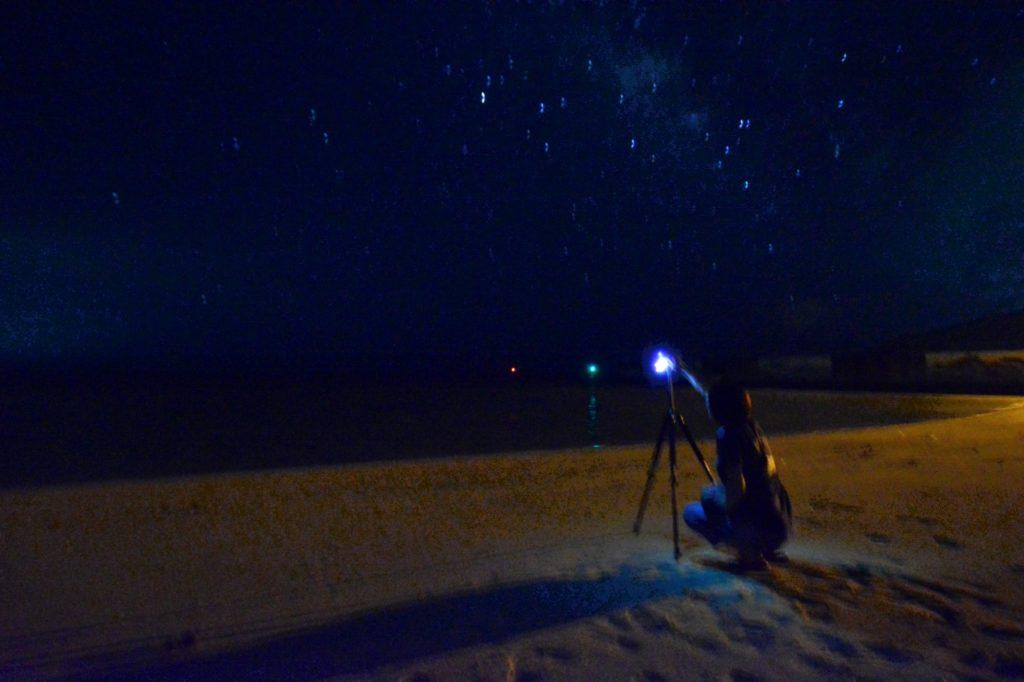久米島 星撮影