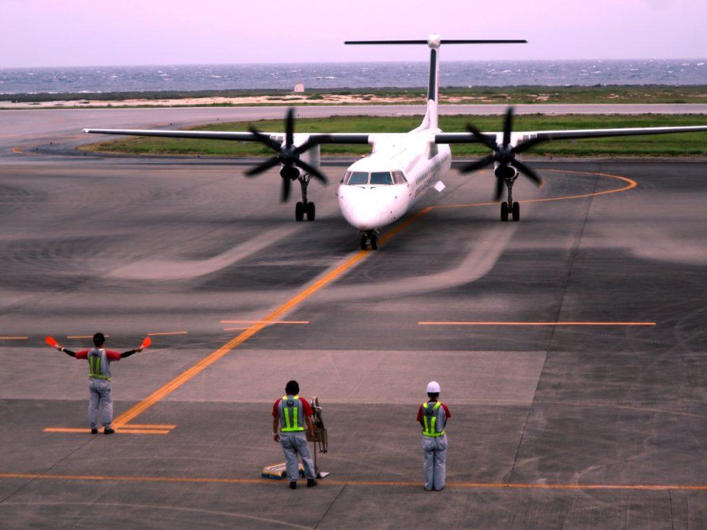 久米島 飛行機