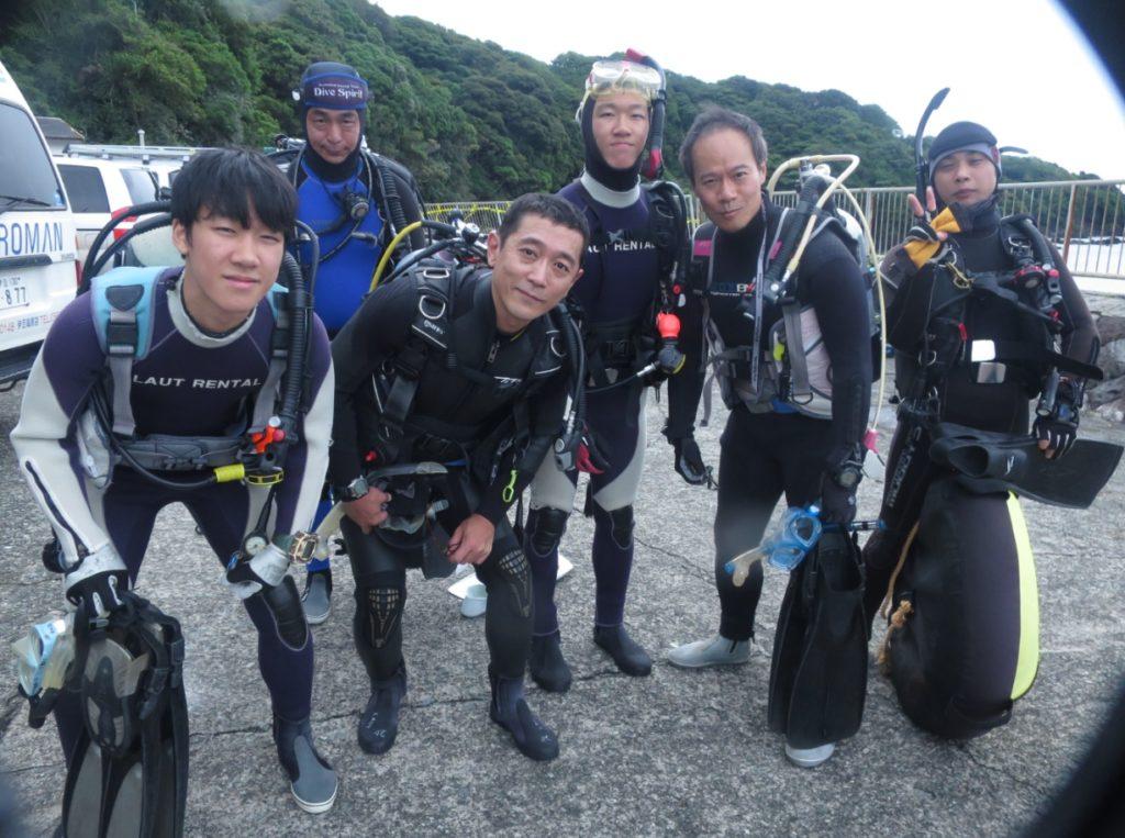 ダイビング 鎌倉 大船