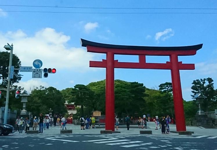 鎌倉 鳥居