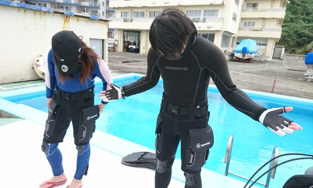 ショートテック ダイビング
