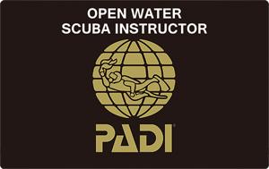 PADI OWSI インストラクター