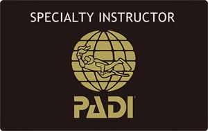 PADI SPI スペシャルティ インストラクター
