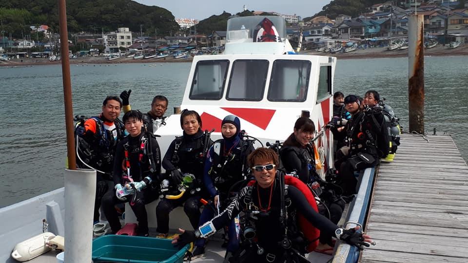 逗子 ダイビング ボート 鎌倉