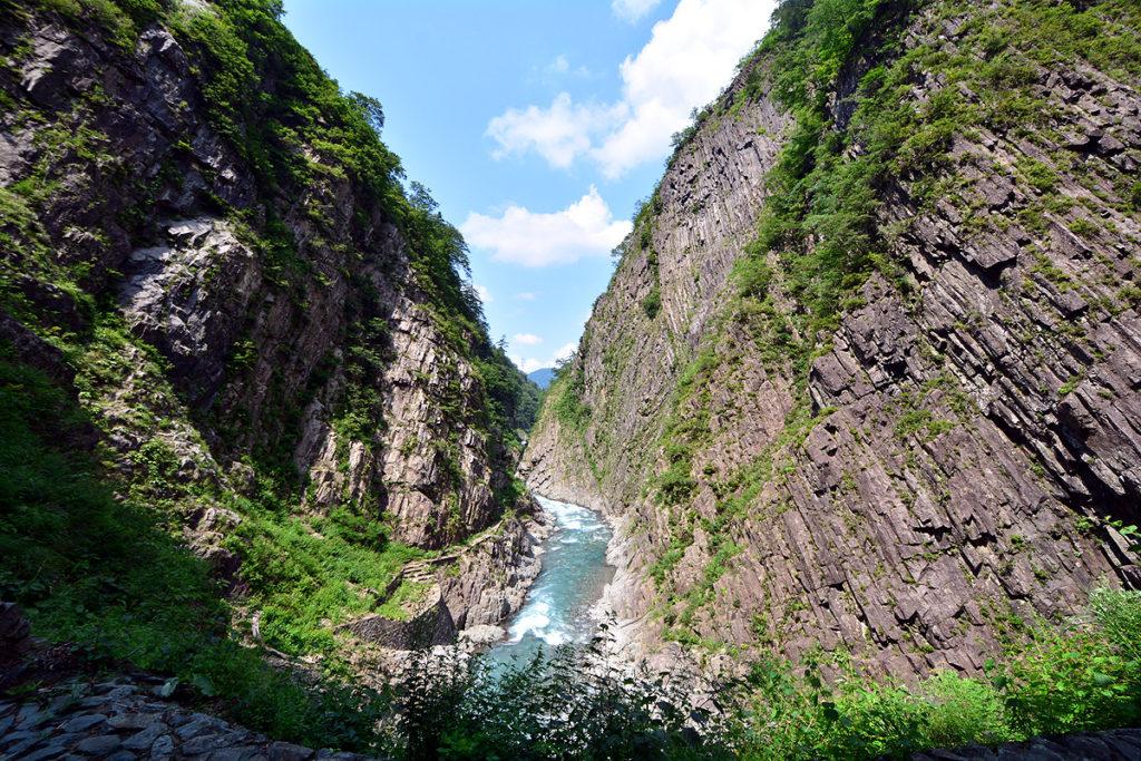 清津峡谷 新潟