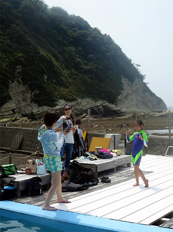 スノーケル 逗子 湘南 神奈川