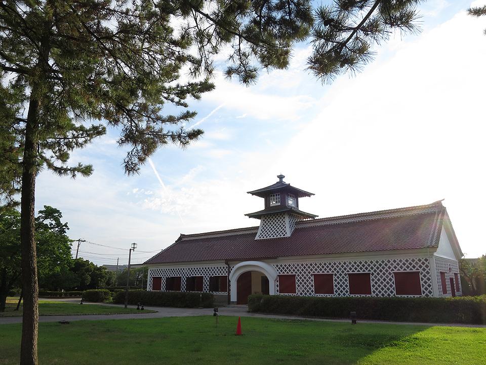新潟 旧税関 庁舎跡