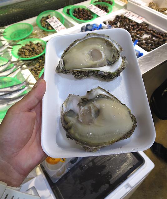 新潟 海鮮 岩牡蠣 岩船 夏