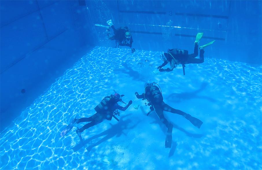 中性浮力 ダイビンング プール PPB