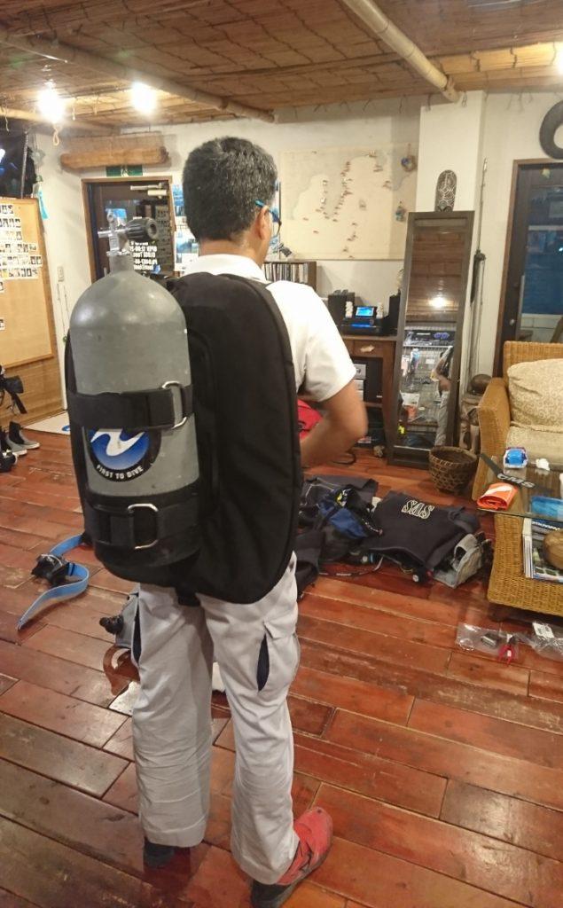 コンフィギュレーション ダイビング 器材