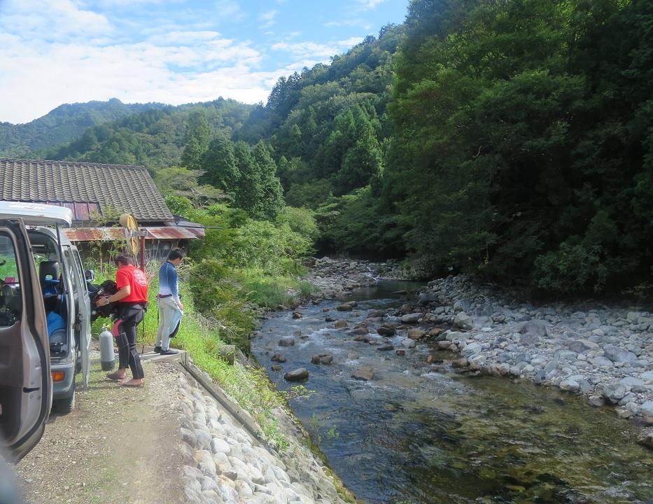 長良川 ダイビング