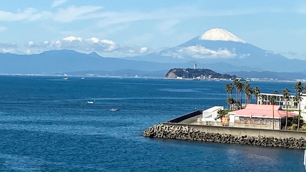 富士山 江の島