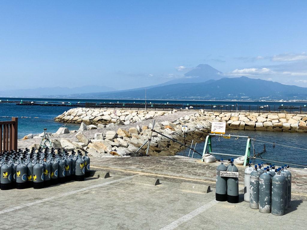 平沢 ダイビング 富士山