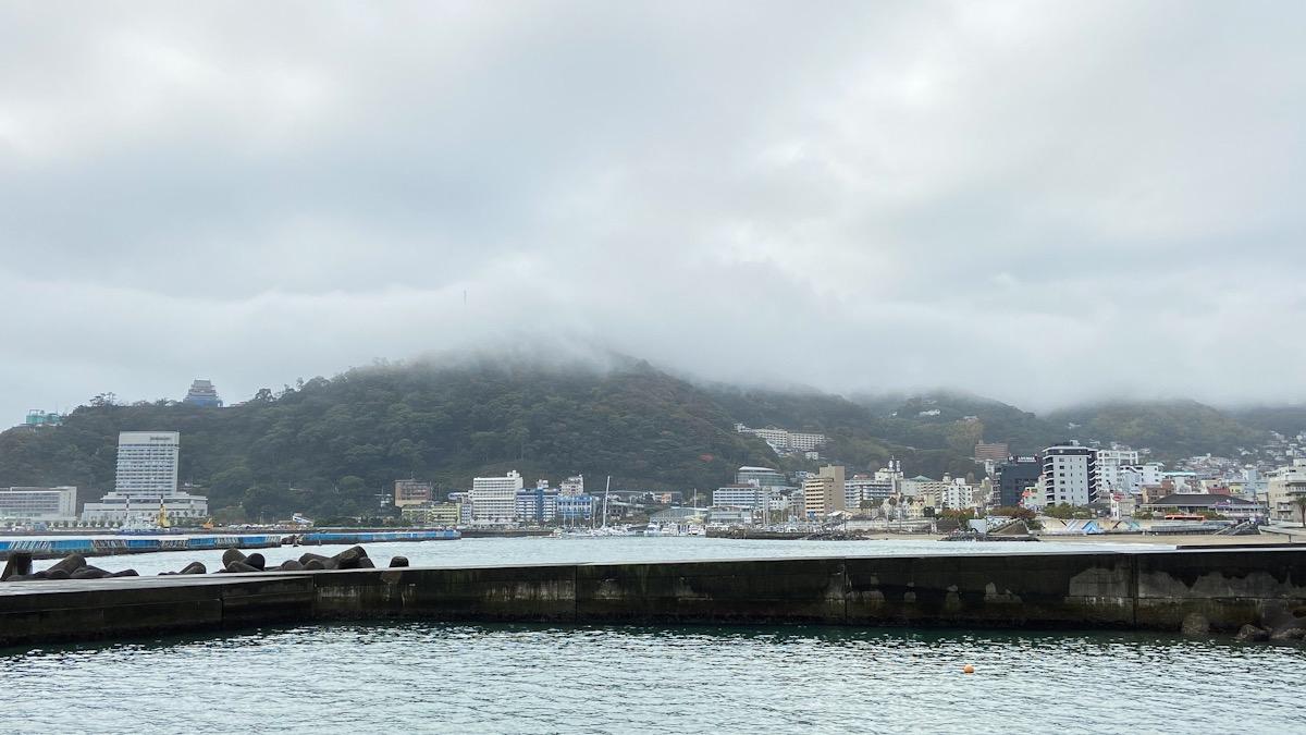 熱海 ダイビング 港