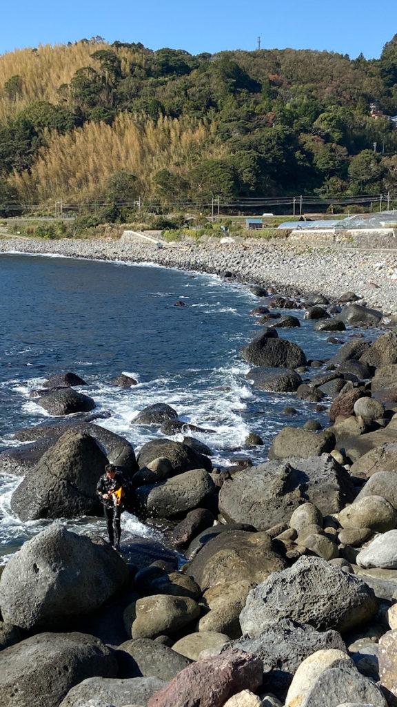 稲取 ビーチ ダイビング