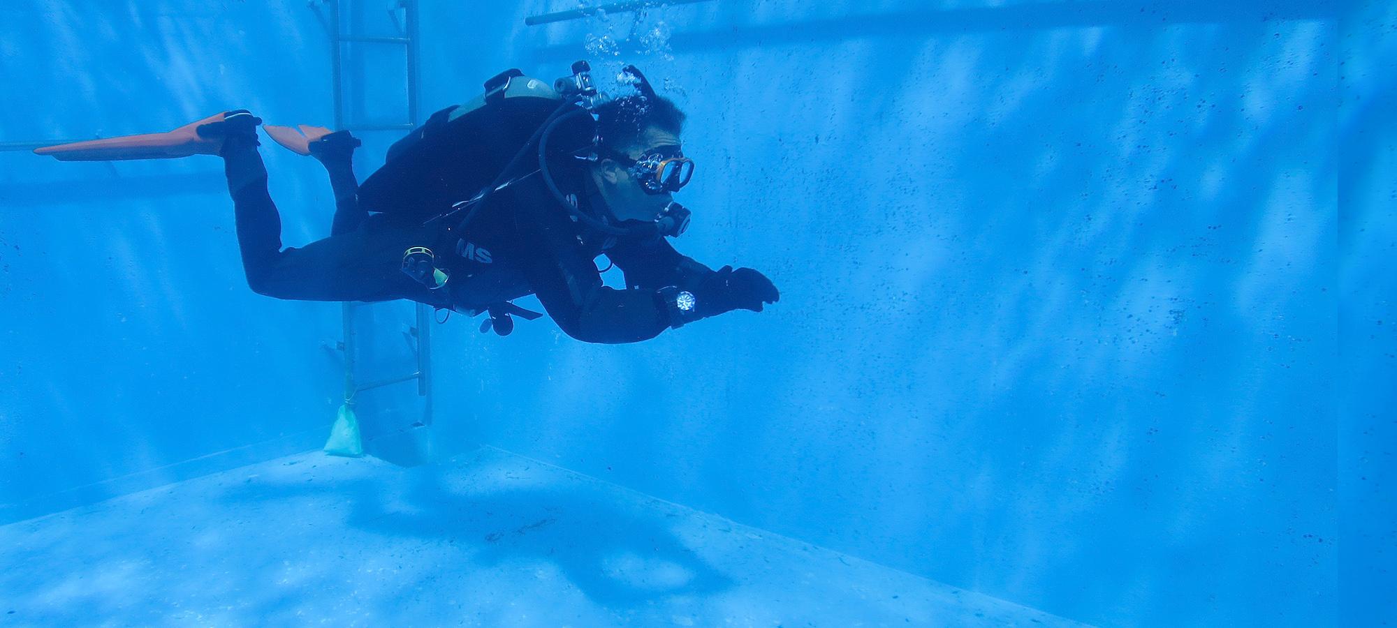 中性浮力 ダイビング 講習 トレーニング