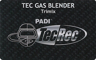 PADI TEC GAS BLENDER trimix