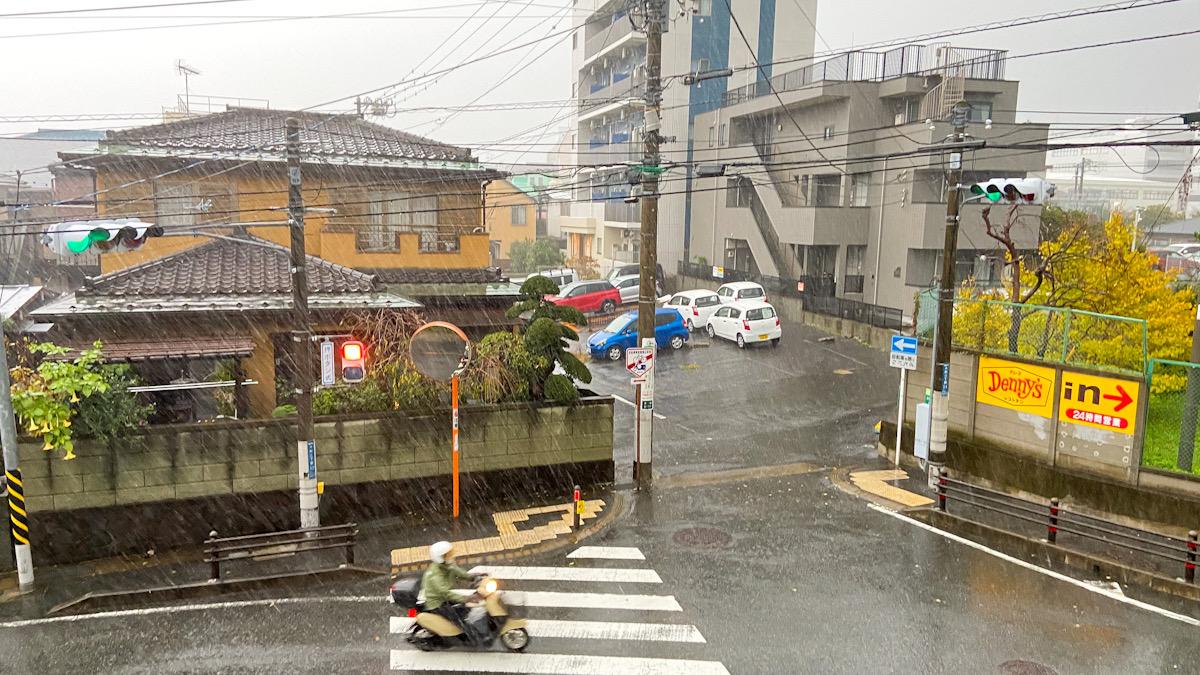 雨 大船 天気