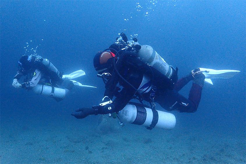 PADI テック テクニカル ダイビング