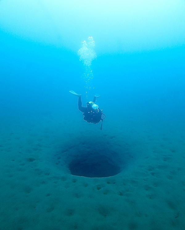 本栖湖 ダイビング 高所潜水 PADI アルティチュード 湧き水