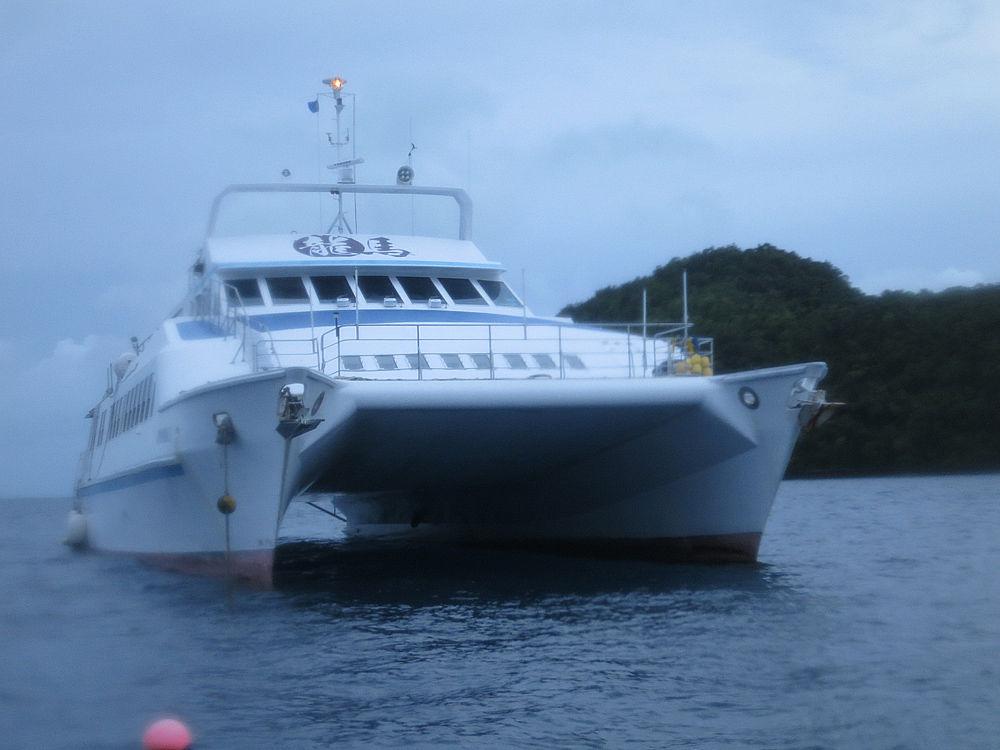 パラオ 龍馬号 ボート ダイビング PADI SP