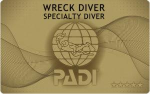 レック ダイビング カード 申請 PADI
