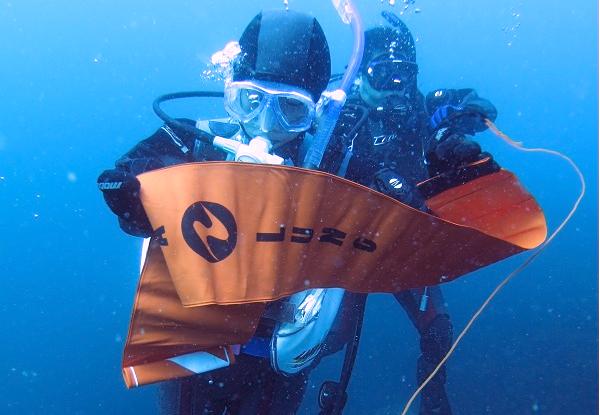 ダイビング フロート ブイ DSMB SP 講習 上げ方