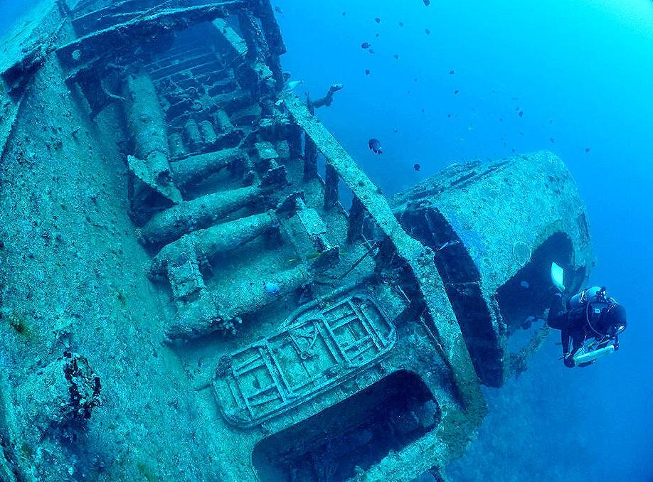 レック 沈船 エモンズ 熱海 ダイビング SP ペネトレーション