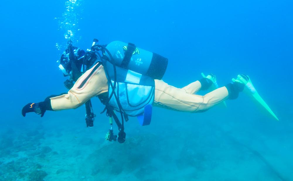 中性浮力 ダイビング トレーニング 練習