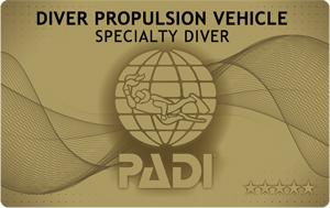 PADI スクーター SP ダイビング 講習