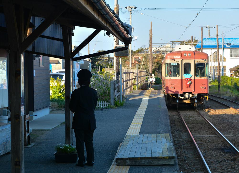 銚子鉄道 千葉 外川駅