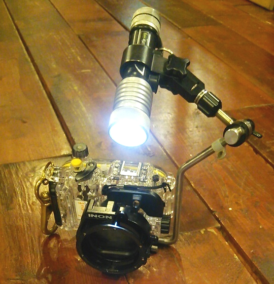 水中写真 撮影 カメラ 機材 ハウジング ライト