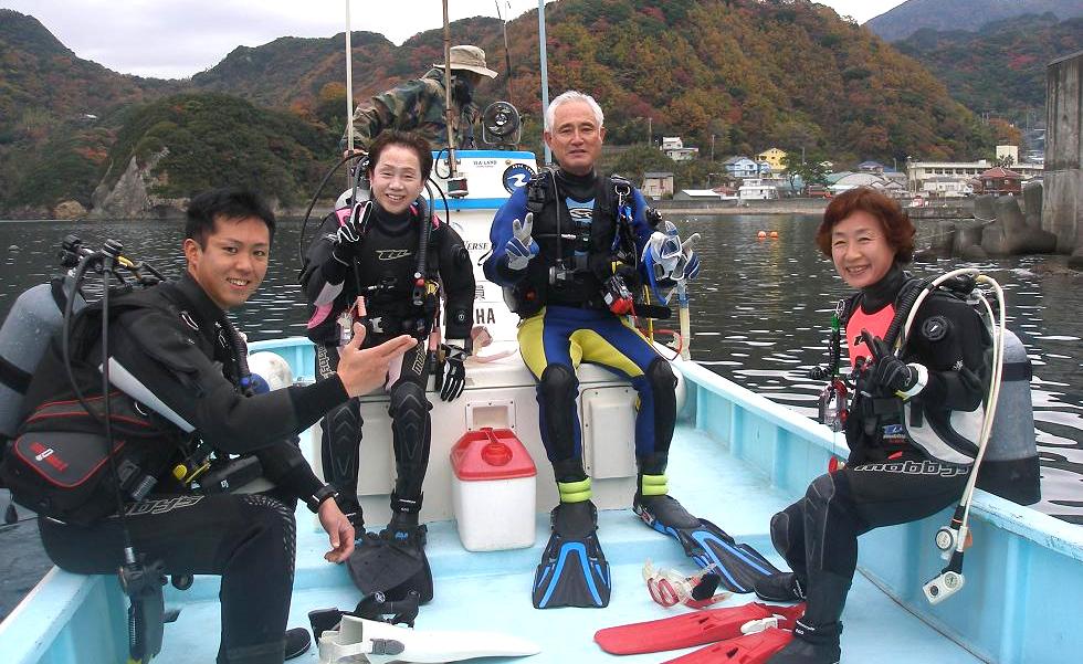 シニア ダイビング ライセンス ツアー 神奈川