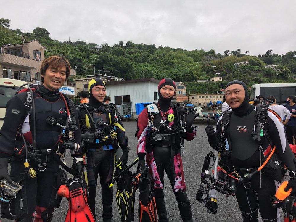 江の浦 ダイビング
