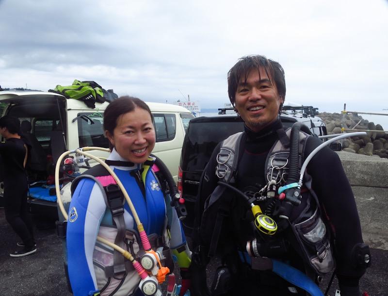 江の浦 ダイビング リフレッシュ 夏 トレーニング 中性浮力