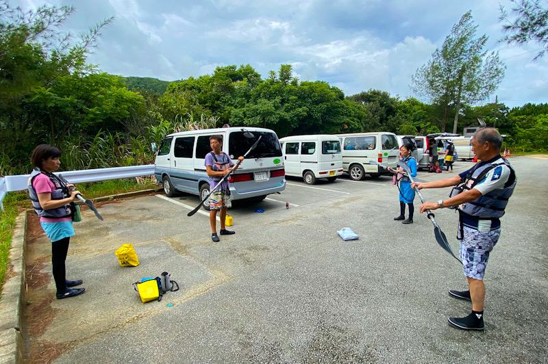 西表島 マングローブ林 カヤックツアー ダイビング 神奈川