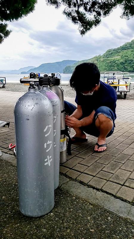 テクニカル テック サイドマウント 神奈川 ダイビング